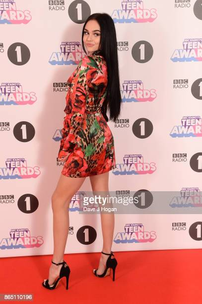 Maggie Lindemann attends the BBC Radio 1 Teen Awards 2017 at Wembley Arena on October 22 2017 in London England
