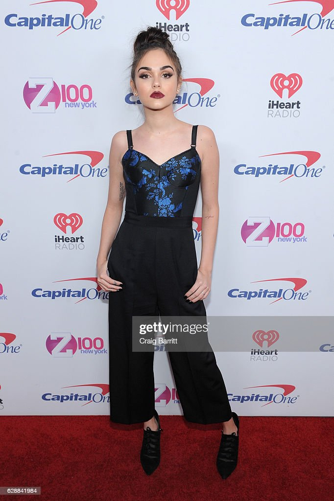 Maggie Lindemann attends Z100's Jingle Ball 2016 at Madison Square Garden on December 9, 2016 in New York City.