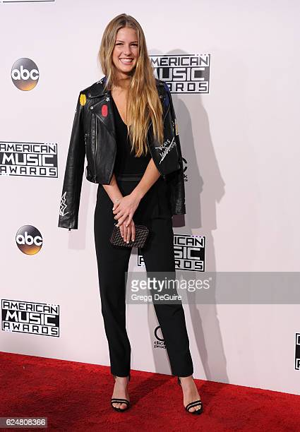 Maggie McGraw arrives at the 2016 American Music Awards at Microsoft Theater on November 20 2016 in Los Angeles California