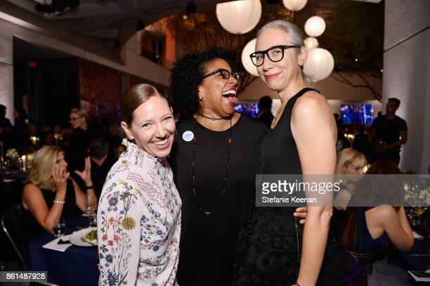 Maggie Nelson Robin Coste Lewis and Alexandra Grant at the Hammer Museum 15th Annual Gala in the Garden with Generous Support from Bottega Veneta on...