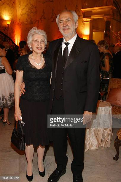 Maggie Philerick and Gerald Sacks attend STEVEN ANGELA KUMBLE'S Wedding Celebration at Metropolitan Club on April 13 2007 in New York City