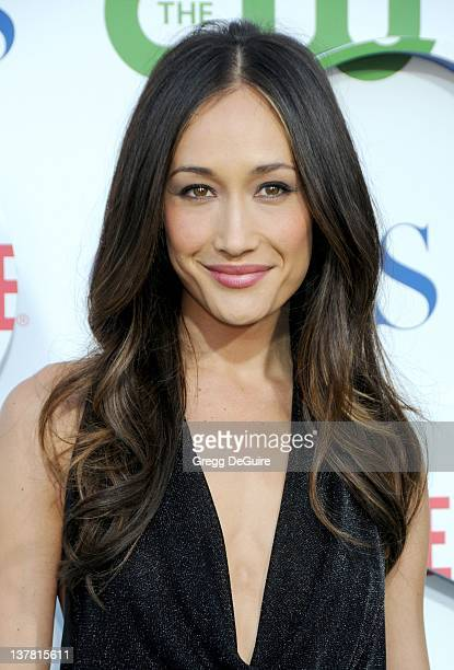 Maggie Q arrives at the CBS The CW Showtime Summer Press Tour Party held at The Tent on July 28 2010 in Beverly Hills California