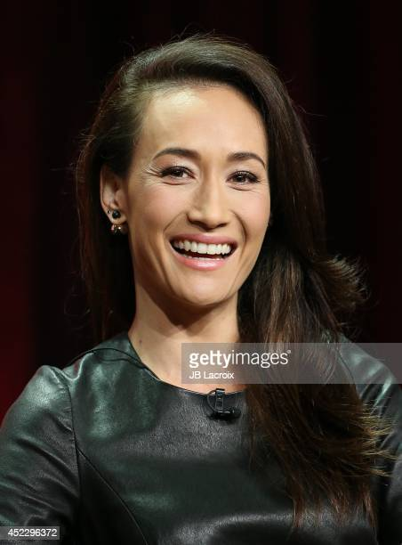 Maggie Q attends the 2014 Summer Television Critics Association at The Beverly Hilton Hotel on July 17 2014 in Beverly Hills California