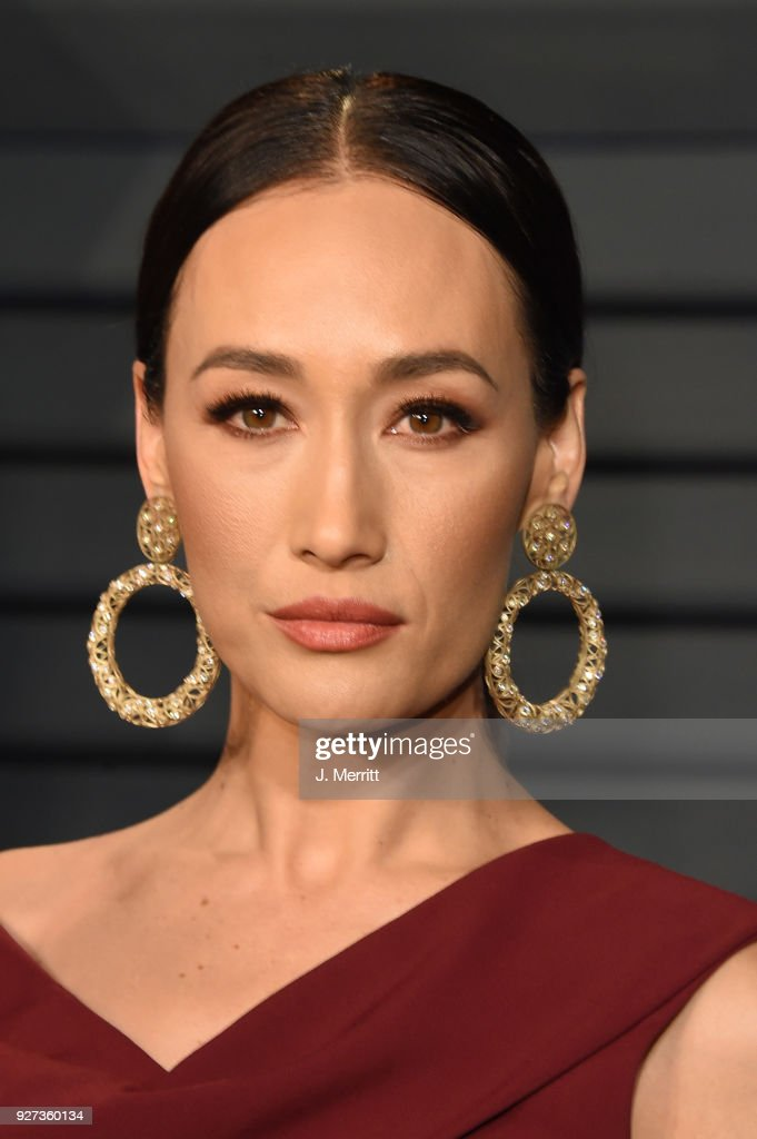 Maggie Q attends the 2018 Vanity Fair Oscar Party hosted by Radhika Jones at the Wallis Annenberg Center for the Performing Arts on March 4, 2018 in Beverly Hills, California.