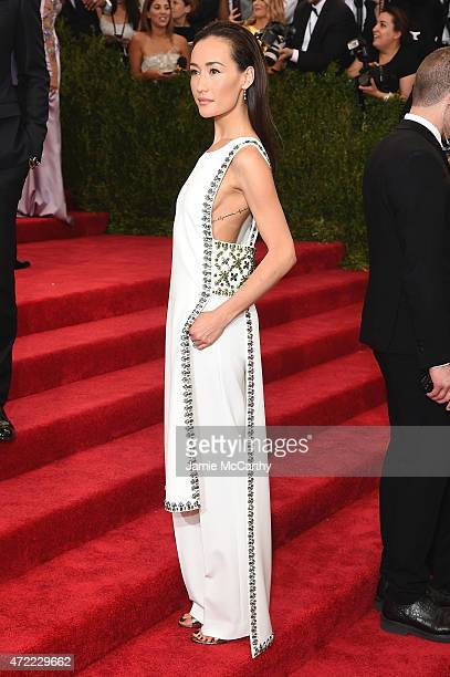 Maggie Q attends the 'China Through The Looking Glass' Costume Institute Benefit Gala at the Metropolitan Museum of Art on May 4 2015 in New York City