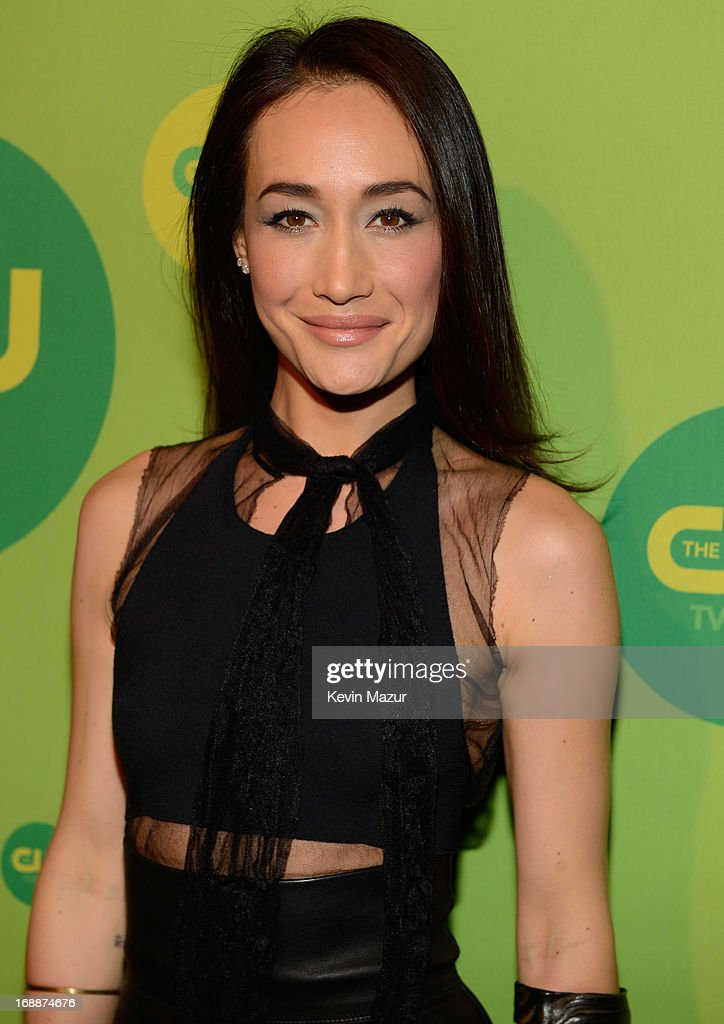 Maggie Q attends the CW Network's 2013 Upfront at The London Hotel on May 16, 2013 in New York City.