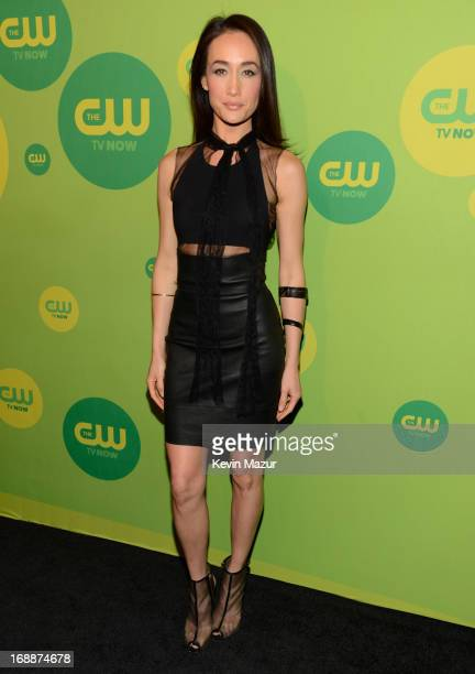 Maggie Q attends the CW Network's 2013 Upfront at The London Hotel on May 16 2013 in New York City