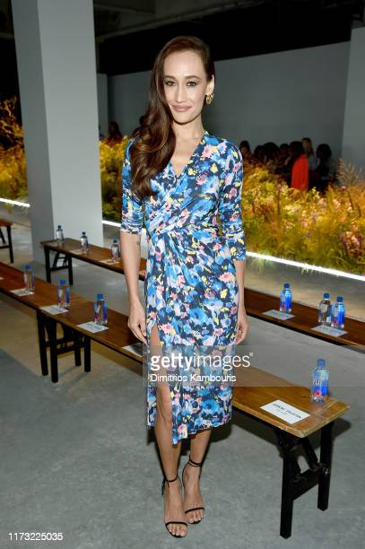Maggie Q attends the Jason Wu Collection front row during New York Fashion Week The Shows at Pier 17 on September 08 2019 in New York City