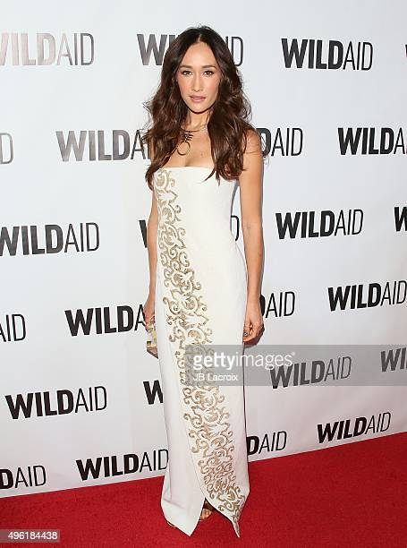 Maggie Q attends the WildAid 2015 on November 7 2015 in Beverly Hills California