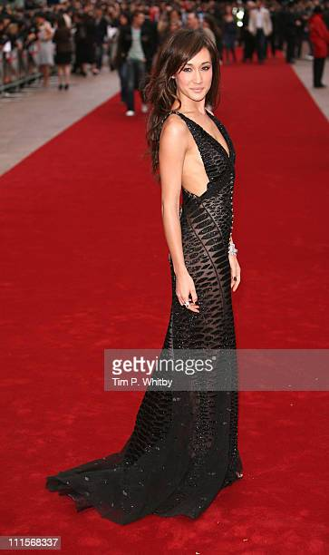 Maggie Q during 'Mission Impossible III' London Premiere Outside Arrivals at Odeon Leicester Square in London Great Britain