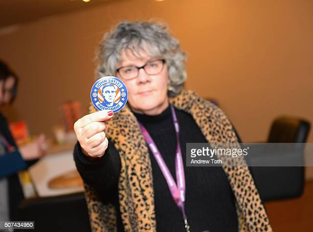 """Maggie Renzi attends the """"City Of Hope"""" Premiere during the 2016 Sundance Film Festival at Egyptian Theatre on January 29, 2016 in Park City, Utah."""