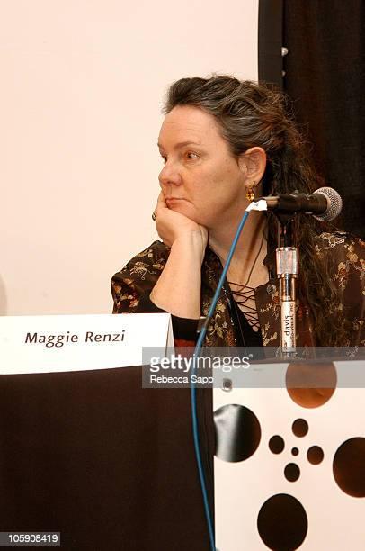 Maggie Renzi during Sundance Film Festival - Panel: Do The Right Thing at Filmmaker's Lodge in Park City, Utah, United States.