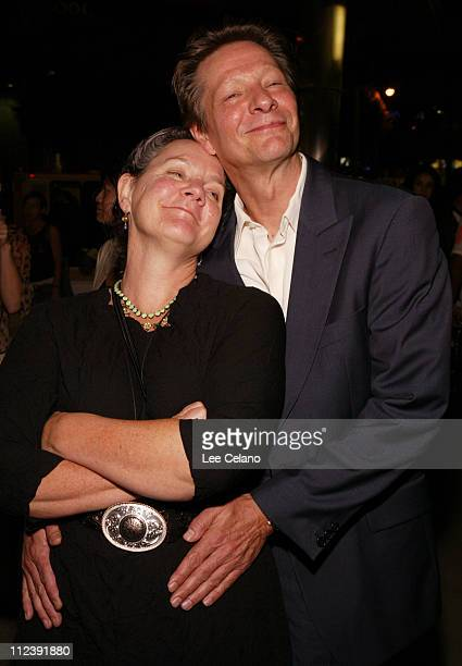 """Maggie Renzi, producer and Chris Cooper during """"Silver City"""" Los Angeles Premiere - After-Party at ArcLight Cinemas in Hollywood, California, United..."""