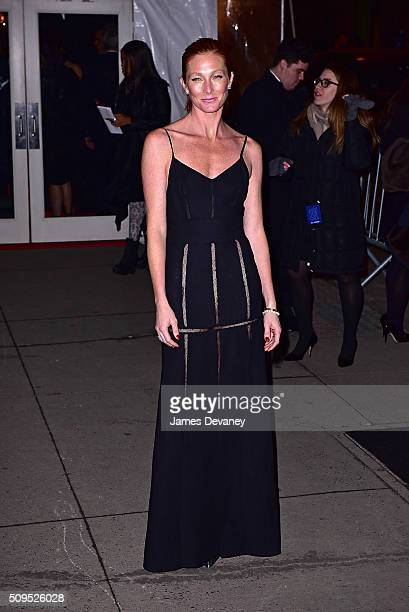 Maggie Rizer arrives to 2016 amfAR New York Gala at Cipriani Wall Street on February 10 2016 in New York City