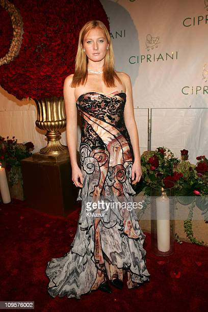 Maggie Rizer during Royal Birthday Ball for Sean 'P Diddy' Combs Red Carpet at Cipriani's in New York City New York United States