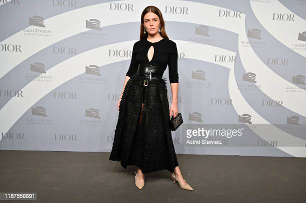 Maggie Rogers attends 2019 Guggenheim International Gala PreParty at Solomon R Guggenheim Museum on November 13 2019 in New York City