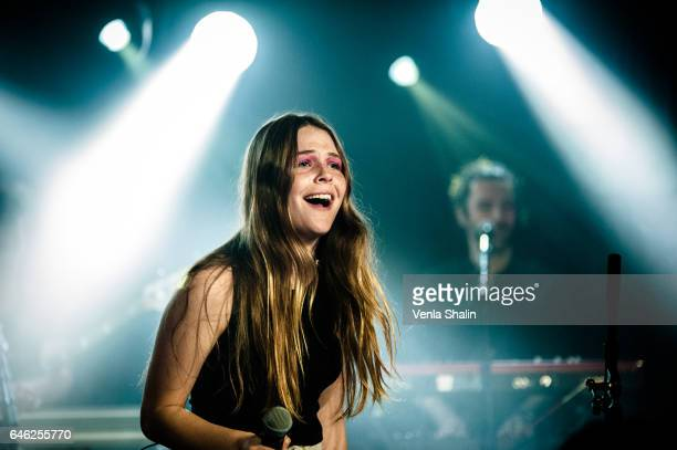 Maggie Rogers performs at Omeara at KOKO on February 27 2017 in London England