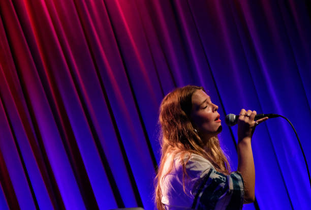 CA: Maggie Rogers Performs At The Grammy Museum