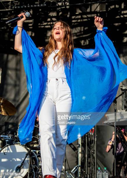 Maggie Rogers performs during day 3 of Shaky Knees Music Festival at Atlanta Central Park on May 05, 2019 in Atlanta, Georgia.
