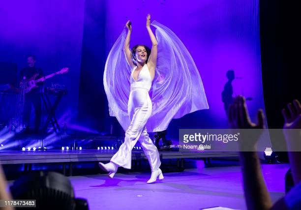 Maggie Rogers performs in concert at Radio City Music Hall on October 01 2019 in New York City