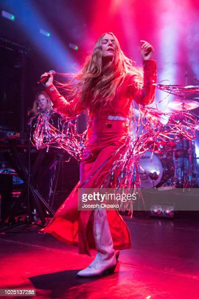 Maggie Rogers performs live on stage at KOKO on August 29 2018 in London England