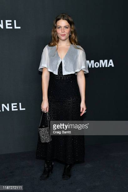 Maggie Rogers wearing Chanel attends MoMA's Twelfth Annual Film Benefit Presented By CHANEL Honoring Laura Dern on November 12 2019 in New York City