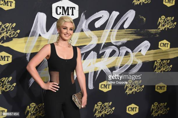Maggie Rose attends the 2018 CMT Music Awards at Bridgestone Arena on June 6 2018 in Nashville Tennessee