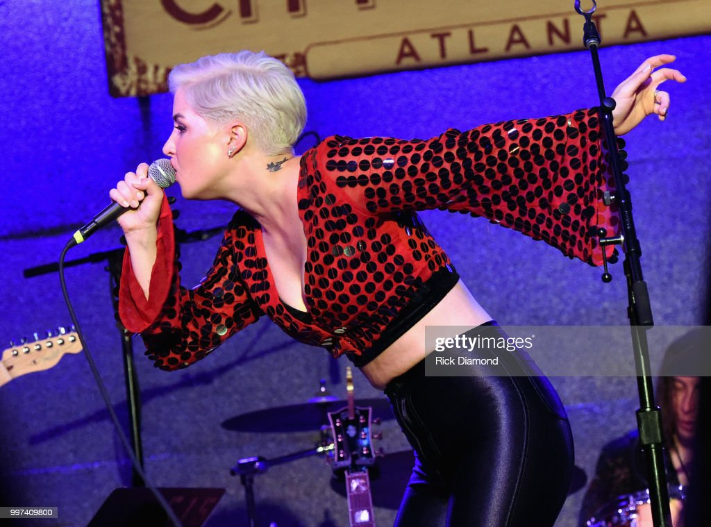 Maggie Rose performs at City Winery Atlanta on July 12, 2018 in Atlanta, Georgia.