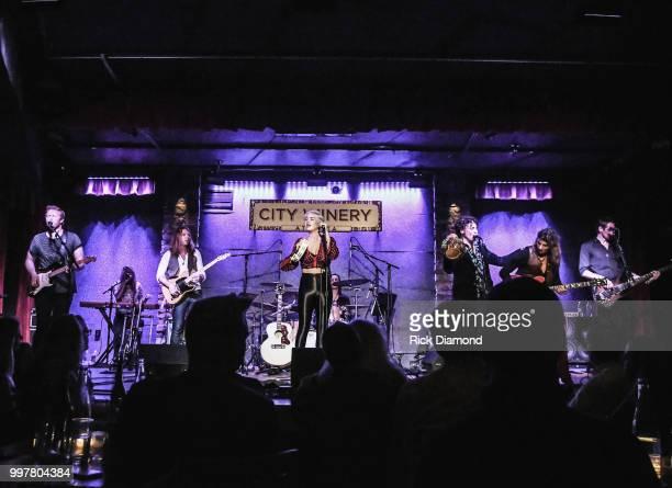 Maggie Rose performs at City Winery Atlanta on July 12 2018 in Atlanta Georgia