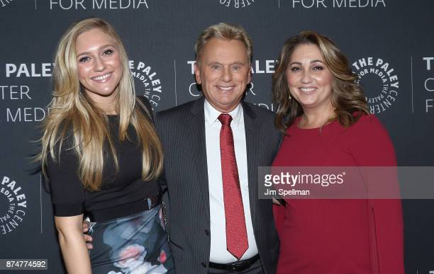 Maggie Sajak TV personality Pat Sajak and Lesly Brown attend The Wheel of Fortune 35 Years as America's Game hosted by The Paley Center For Media at...