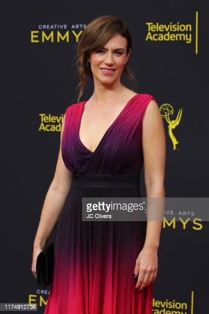 Maggie Siff attends the 2019 Creative Arts Emmy Awards on September 15, 2019 in Los Angeles, California.