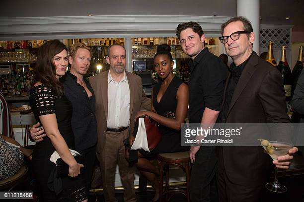 Maggie Siff, Eric Damon, Paul Giamatti, Condola Rashad, Toby Leonard Moore, and Paul Ratliff attend Gotham Magazine Celebrates September Fall Fashion...