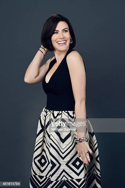 Maggie Siff poses for a portrait at the Critics' Choice Awards 2014 on June 19, 2014 in Beverly Hills, California.