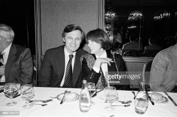 Maggie Smith and Alan Alda pictured at a press conference for the Royal Film Performance which will take place in the evening at the Odeon Theatre...