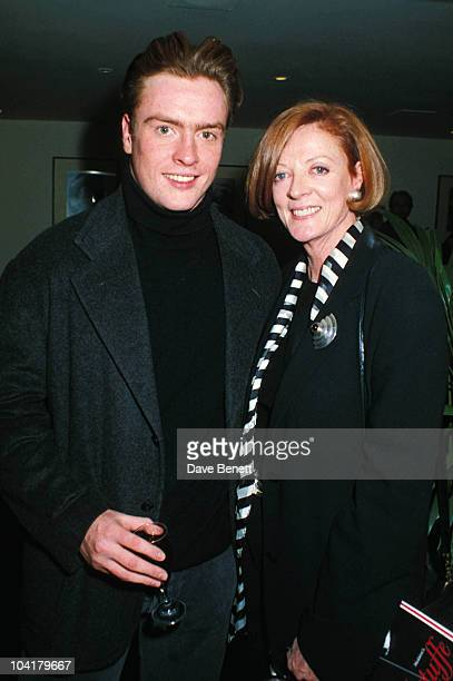 Maggie Smith And Son Toby Stephens London Maggiesmithretro