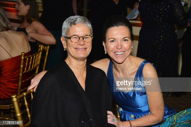 Maggie Walker and Allison Rockefeller attend National Audubon Society Gala 2019 at The Plaza Hotel on February 7 2019 in New York City