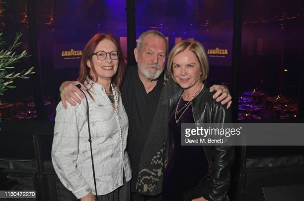 Maggie Weston Terry Gilliam and Mariella Frostrup attend the Roundhouse Gala an evening raising money for the venue's charitable work with young...