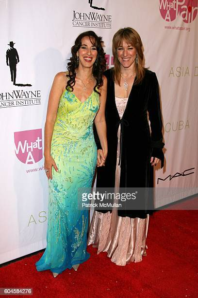 Maggie Wheeler and Kathleen Wilhoite attend What A Pair 4 Arrivals at Wiltern/LG Theatre on June 11 2006 in Los Angeles CA