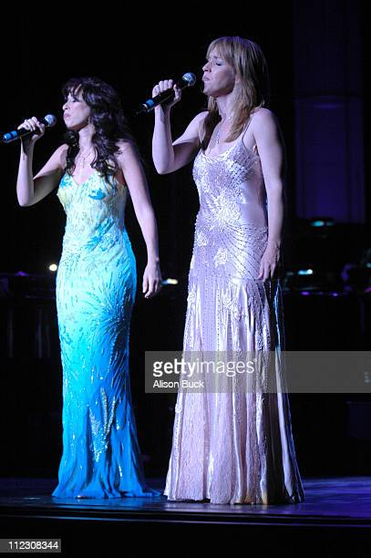 Maggie Wheeler and Kathleen Wilhoite during What a Pair 4 Show at Wiltern/LG Theatre in Los Angeles CA United States