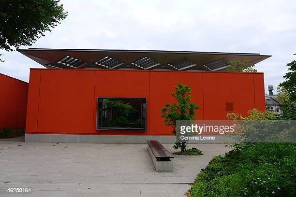 A Maggie's Centre at Charing Cross Hospital in London circa 2010 The building was designed by Rogers Stirk Harbour Partners and provides a dropin...