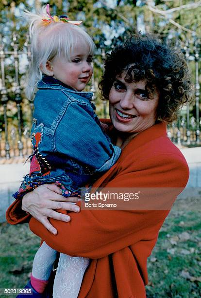Maggie's daughter Bright fall day in Ottawa saw Margaret Kemper Pierre Trudeau's former wife out walking with daughter Alicia 22 months near Ottawa...