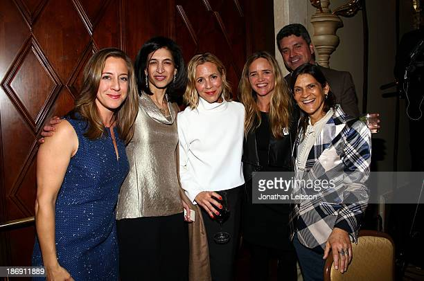Maggy Neilson Global Director of Equality Now Yasmeen Hassan actress Maria Bello Clare Munn Trevor Neilson and Aileen Getty attend Equality Now...