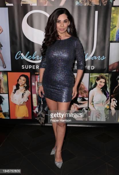 Magi Avila attends SU Magazine's 21st Anniversary Celebration at Avalon Hollywood & Bardot on October 09, 2021 in Los Angeles, California.