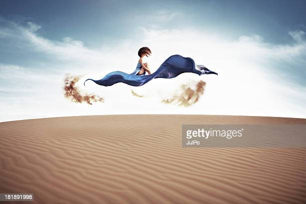 magic carpet - fairytale stock pictures, royalty-free photos & images