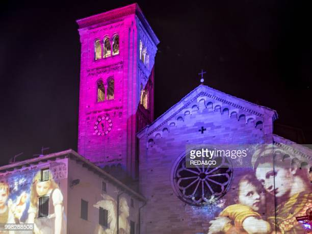 Magic Como Christmas lights Lombardia Italy Europe Photo by Carlo Borlenghi/REDACO/Universal Images Group via Getty Images