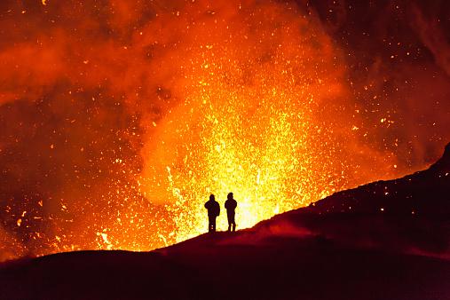 Magic fire. Kamchatka 526493757