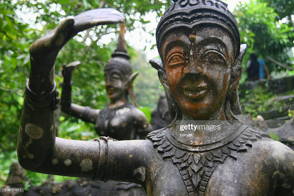 Magic garden, Ko Samui, Thailand : Stock Photo