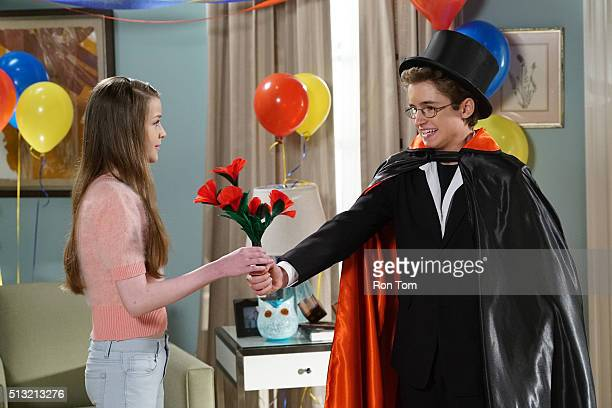 THE GOLDBERGS Magic Is Real Inspired by David Copperfield's walk through The Great Wall of China Adam becomes a magician in order to impress a girl...