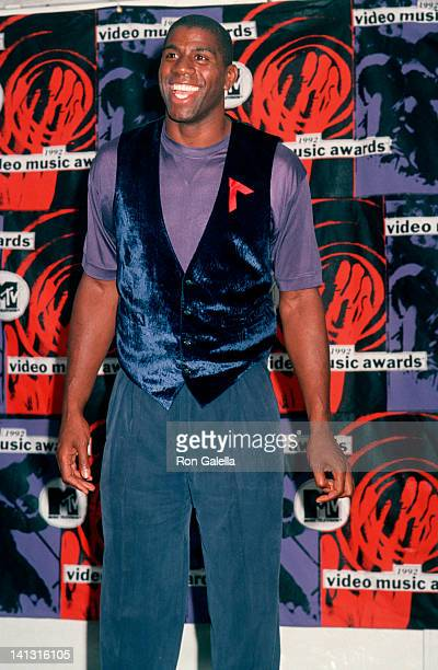 Magic Johnson at the Premiere of 'Another 48 Hours', Mann Village Theater, Los Angeles.