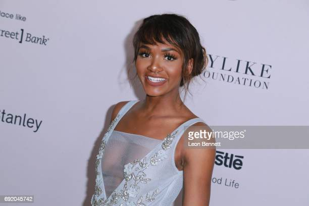 Magic Johnson's daughter Elisa Johnson attends the Ladylike Foundation's 9th Annual Women Of Excellence Awards Gala at The Beverly Hilton Hotel on...